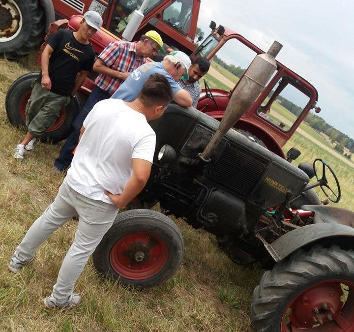 Loppis och traktorer 27 juli